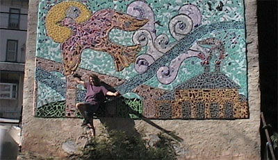 Mosaic murals expressive therapy concepts for Mural mosaic
